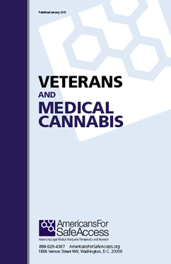 Veterans and Medical Cannabis cover