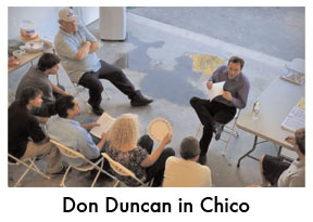Don Duncan in Chico