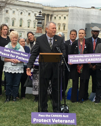 Rep. Dana Rohrabacher (R, CA) at the press conference
